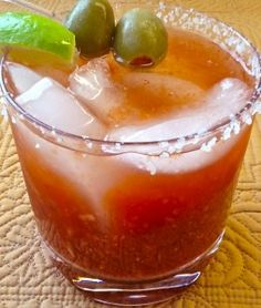 A Sweet & Spicy Homemade Bloody Mary Mix | This Girl Walks Into A Bar