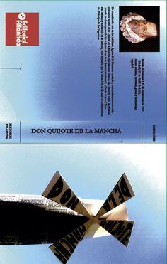 TAPA DE LIBRO Diseño de cubierta de un libro.Incorporación de la tipografía como un elemento más que compone la imagen.