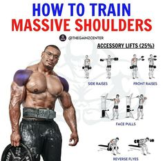 1 Hour Workout, Best Workout Plan, Gym Workout Tips, Dumbbell Workout, Fun Workouts, Shoulder Routine, Shoulder Workout, Traps Workout, Weight Training Workouts