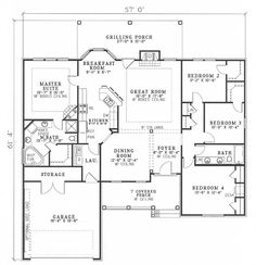 I Love House Plans On Pinterest Floor Plans House Plans