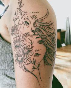 Dope Tattoos, Mehndi Tattoo, Get A Tattoo, Future Tattoos, Cat Art, Tattoo Artists, Art Quotes, Piercings, Tattoo Designs