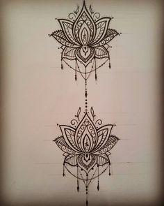 Foot Tattoos Girls, Girl Tattoos, Body Art Tattoos, Ink, Mandalas, Drawings, Tattoos, Projects, India Ink