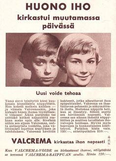 VALCREMA Kotiliesi 1961