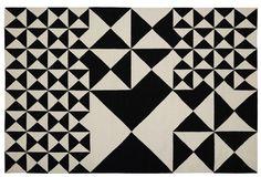 Panton Rug Squared [Verner Panton (1926-1998)] - Danish Design