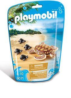 PLAYMOBIL Sea Turtle with Babies Building Set PLAYMOBIL®