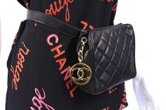 Vintage CHANEL Waist Bag at Rice and Beans Vintage