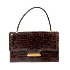 HERMES CROCODILE POROSUS  RARE BAG