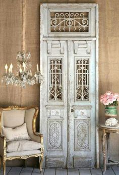 #french style doors Hunter & Chase Clothing Boutique