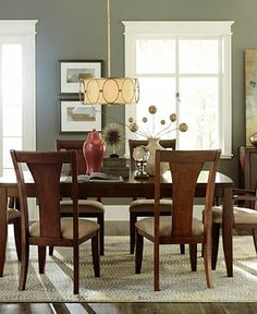 Bon Cherry Wood Dining Room Furniture Table 6 Chairs Set | Dining Room |  Pinterest | Room Set, Cherries And Woods