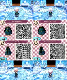 Frozen Animal Crossing: New Leaf QR Code