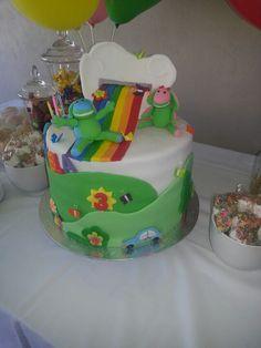 Lollos rainbow cake by Andrea Jacobs