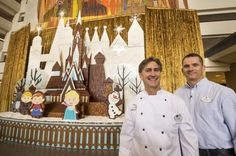 Building the Frozen Gingerbread Castle at the Contemporary | The Disney Blog