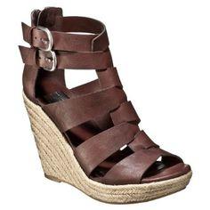 Dolce Vita for Target Brown Rope Wedge Sandal
