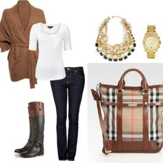 Winter or fall brunch outfit