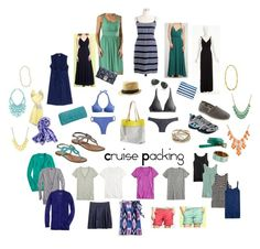 """Cruise Packing"" by lizzi43 ❤ liked on Polyvore featuring J.Crew, Gap, Scoop, Farrah, Ann Taylor, Banana Republic, HOBO, Talbots, The North Face and TOMS"