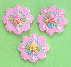 How to Decorate Cookies with Royal Icing 21 Fancy Cookies, Iced Cookies, Biscuit Cookies, Cute Cookies, Easter Cookies, Cupcake Cookies, Sugar Cookies, Pink Cookies, Cookie Favors