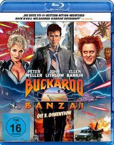 Buckaroo Banzai - Die 8. Dimension [Blu-ray]: Amazon.de: Peter Weller, John Lithgow, Ellen Barkin, Jeff Goldblum, Christopher Lloyd, W. D. R...