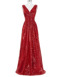 Long Bridesmaid Dresses Red Silver Pink Black Gold Sequins Wedding Party  Dresses for Bridesmaids 2017 Prom d53ce138eccf