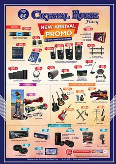 Crystal House Flacq Promo from 01 to 16 October. Tel: 413 2015
