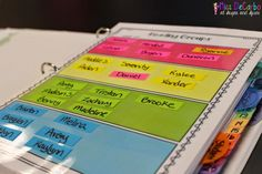 A Glance Into My Guided Reading Binder! - Miss DeCarbo