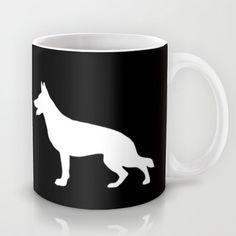 Dogs | German shepherd Mug by Rue du chat qui peche