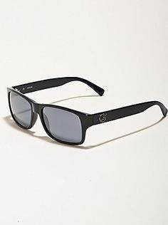 Shop men's eyewear at Guess.com today and be fashionable!Guess is known for their sexy, trendsetting and all american look with a touch of European. Check this item from their latest collection of men's eyewear. A classic shape with tough details, these sunglasses embody your personal style. They're the finishing touch that'll keep the ladies week in the knees.    Please visit: http://shop.guess.com/Catalog/Browse/Men%27s%20Accessories/Eyewear/