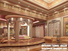 royal bedroom 2013 style interior design, luxury bedroom interior design 2013