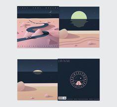Visual Identity and Illustrations for Pinkshinyultrablast — superb shoegaze band…