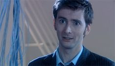 (gif) David Tennant/Tenth Doctor Smiles