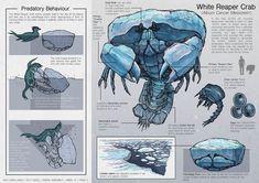 Creature Design - Predator and Prey , L J Koh Monster Concept Art, Alien Concept Art, Creature Concept Art, Fantasy Monster, Monster Art, Creature Design, Mythical Creatures Art, Alien Creatures, Mythological Creatures