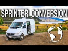 Mercedes Sprinter Camper Van Conversion