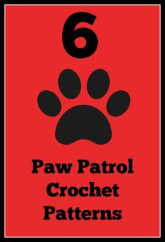 There are certain shows, and characters that resonate with kids from time to time. Currently Paw Patrol is one of those hot shows for toddlers. So I thought I would round up some patterns for the parents, and loved ones of these Paw-tastic kids. Here are 6 Paw Patrol Crochet Patterns: Pup Pup Boogie Playmat …