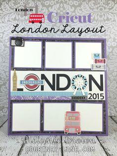 London layout using CTMH Wanderful paper