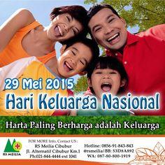 #hari #sehat #keluarga #psikologi #bersama #ayah #bunda #anak #family #rumahsakit #rsmeilia #cibubur #depok #terbaik