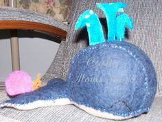 Felting, inspired by 'The Snail & The Whale' by Julia Donaldson