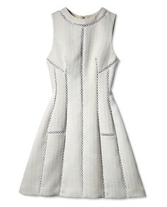 Your Springtime Wardrobe All-Stars - Structured Dress from #InStyle