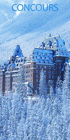 Gagnez un voyage au Fairmont Banff Springs. Fin le 30 avril.  http://rienquedugratuit.ca/concours/gagnez-un-voyage-au-fairmont-banff-springs/