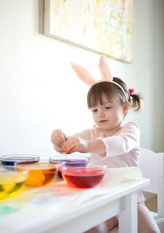 Easter Eggs with Evie!