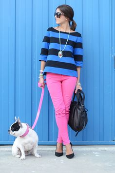 So wish I could pull this off. Bright and fun. This chick is 23, but she might just be my new style icon.