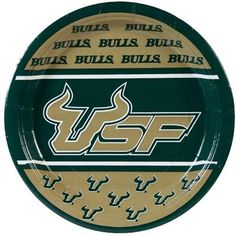 #USF paper plates.
