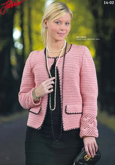Beautiful jacket inspired by Chanel.