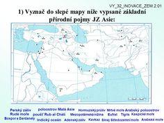 slepá mapa blízký východ - Hledat Googlem Diagram, World, Asia, The World