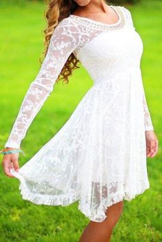 My kind of white dress