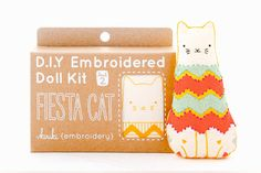 Fiesta Cat is a Level 2 pattern, using basic and intermediate stitches. All…