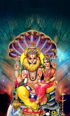 17 Best Sri Lakshmi Narasimha Swamy Images Lord Vishnu Deities