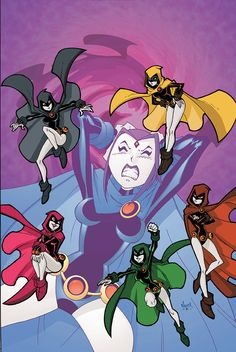 Teen Titans Go! #42 cover art by Todd Nauck.