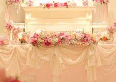 インスタで見つけたプリンセス風結婚式高砂デザインまとめ