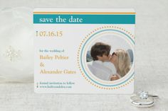 Make a Statement - Save the Date Magnet by MagnetStreet