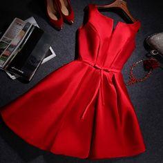 Gd6092 Brief Graduation Dress,Noble Graduation Dress,Short Graduation Dress,Satin Graduation Dress