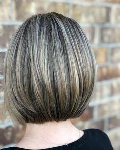 Short Hair Syles, Short Choppy Hair, Short Hair With Layers, Short Hair Cuts, Brown Hair With Blonde Highlights, Hair Color Highlights, Medium Hair Styles, Curly Hair Styles, Grey Hair Transformation